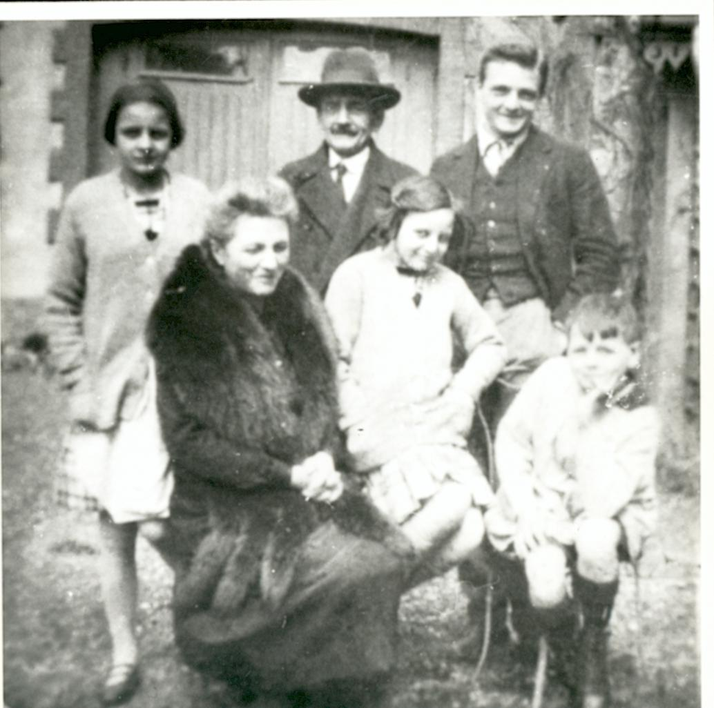Georges et sa famille